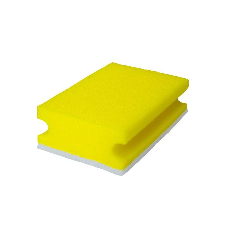 Schwamm gelb/weiß