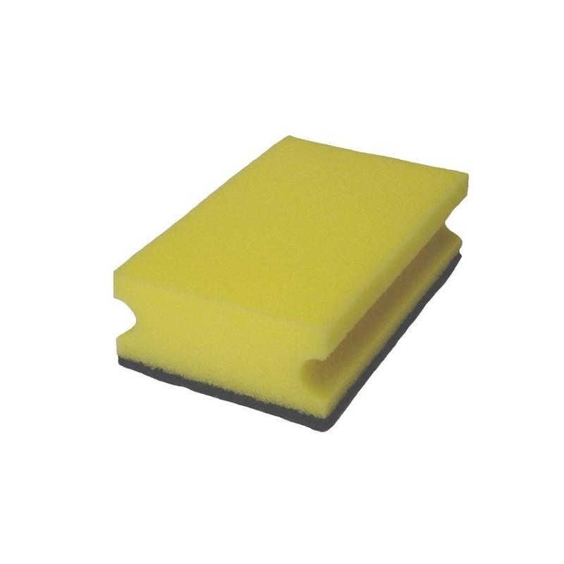 Schwamm gelb/schwarz
