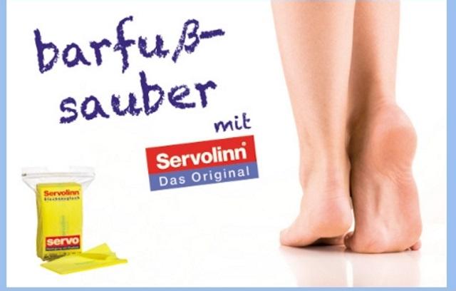 Gepflegte Fußböden: mit unserem Servolinn-Tuch kein Problem!
